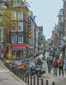 Amsterdam does not lack for a variety of establishments for dining, drinking and smoking.
