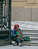 Like any big city, Buenos Aires has it's share of homeless and beggars.