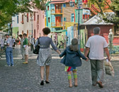 La Boca is one of Buenos Aires most colorful neighborhoods.