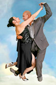 Tango dancers often seem to be transported to another world.