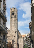 Built in the heart of the Gothic quarter in 1302.