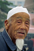 This old man remembers and represents China's past.