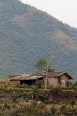 We see many isolated homes that are not yet a part of modern China.
