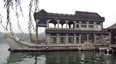 Built in 1775 by Emperor Qianlong and restored 100 years later by Empress Cixi.