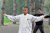 Chinese exercises can help promote peace of mind for practicioners.