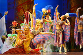 The Tang Dynasty show offers insight into the culture and life style of the period.