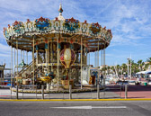 Carousels are found in most of the larger villages and cities in France.