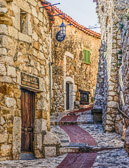 Follow the path to the top of Eze Village and find it's botanical gardens.