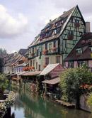 The canal neighborhood is known as La Petite Venice.