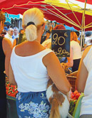 France's colorful markets are abundent with fresh, local produce and ready to eat.