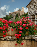 One of many beautiful perched villages to explore in Provence.