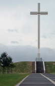 The cross in Phoenix Park, Dublin commemorates the 1979 visit of Pope John Paul II to Ireland.