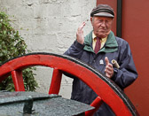 The Irish are famous for their story telling skills making Mr. Herlihy well suited for his job as a tour guide in Kinsale.