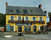 A popular pub and restaurant that sits along the Kinsale  waterfront.