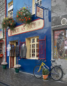 Hoping for a 2nd time around for used clothing at a shop in Galway.