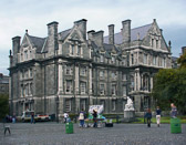 Dublin's Trinity College is also the home of Ireland's treasured Book of Kells.