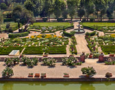 This Tuscan garden outside Florence was once walked in by many of the  Medicis.
