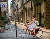 Two wheeled vehicles are one of the best ways to get around Florence.