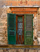 An old door reminds us of Italy's  grand and glorious past.