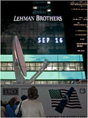 Shock and awe as Lehman Brothers collapses in 2008.