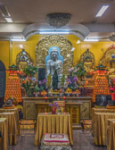 This temple is located in Chinatown in New York's lower East Side.