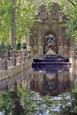The breathtaking fountain is found in the Luxembourg Gardens.