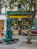 The famous English language bookstore by the Seine near Notre Dame.