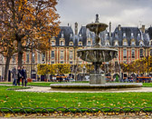 A great place in the Marais for shopping, dining, art and to live.