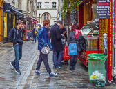 A favorite food in Paris is found in the Jewish Quarter of the Marais.