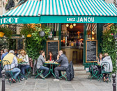A very popular restaurant near the Place Des Vosges.