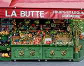 "This colorful fruiterie was featured in the popular French movie ""Amalie""."
