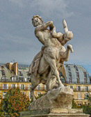 This sculpture is found in the Jardin des Tuileries near Rue Rivoli.
