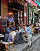 The Paris cafés and restaurants are where much of the Paris social life takes place.