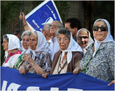 Argentine mothers have marched every  Thursday for about 40 years in Buenos Aires.