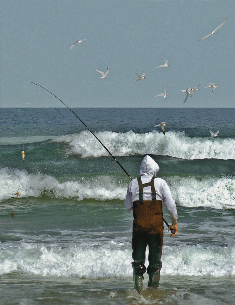United states barbara eggermann 39 s photoimpressions for Surf fishing nj